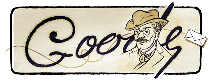Google Logo: Ion Luca Caragiale's 160th birthday, Romanian writer